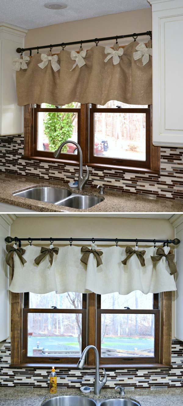 20 Cheap And Easy Diy Window Valance Ideas Updated 2020
