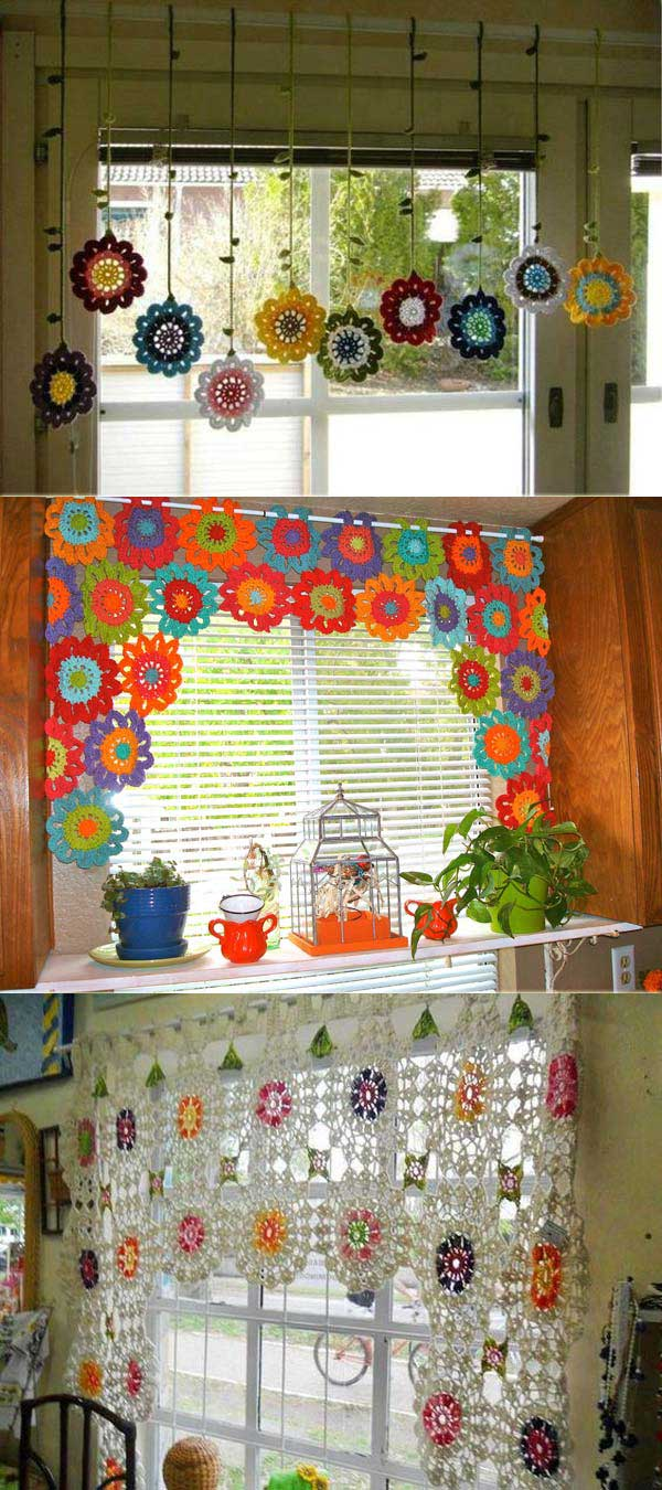 Kitchen Curtain Ideas Valances No Sew