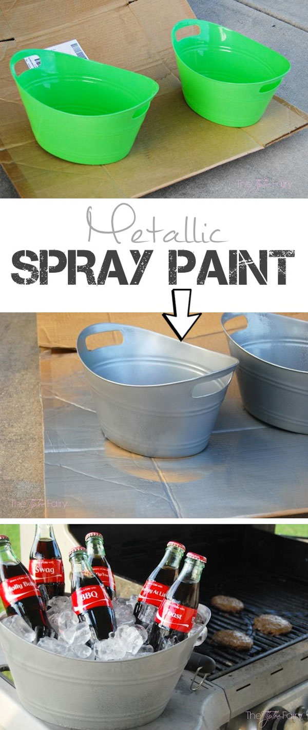 24 Spray Paint Ideas To Make Old Stuff Look More Expensive Homedesigninspired