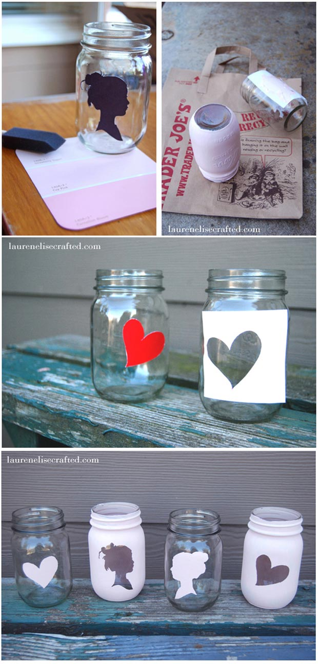 valentines day mason jar crafts