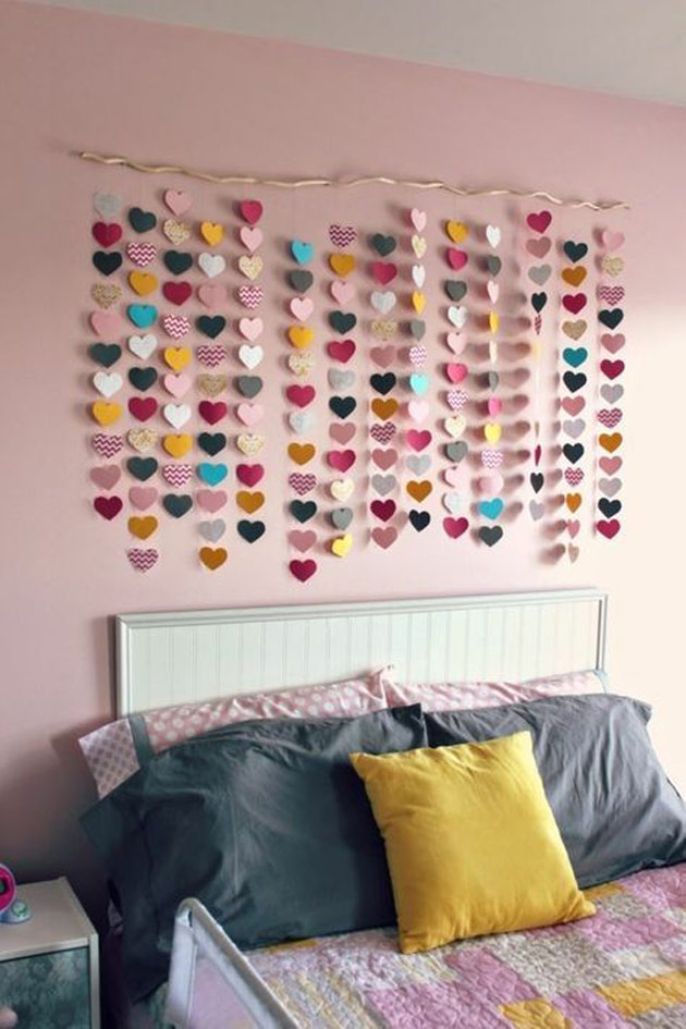 Heart Papers Wall Art