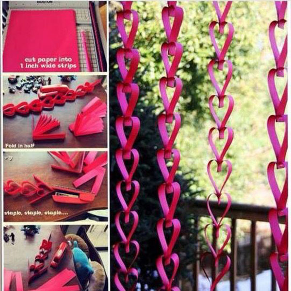 Heart Shaped Hanging Garland