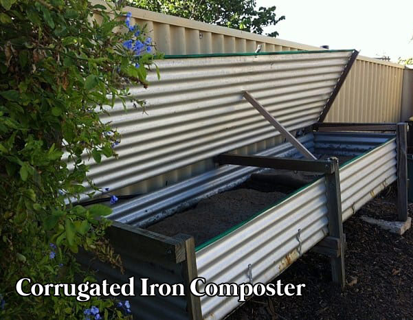 Corrugated Iron Composter