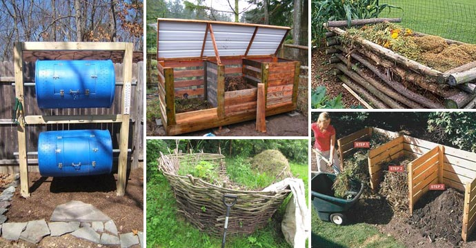 15 Easy Compost Bins You Can Diy On Very Low Budget