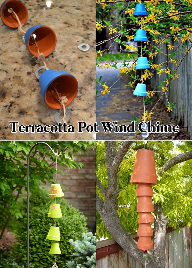 Create a Terracotta Pot Wind Chime