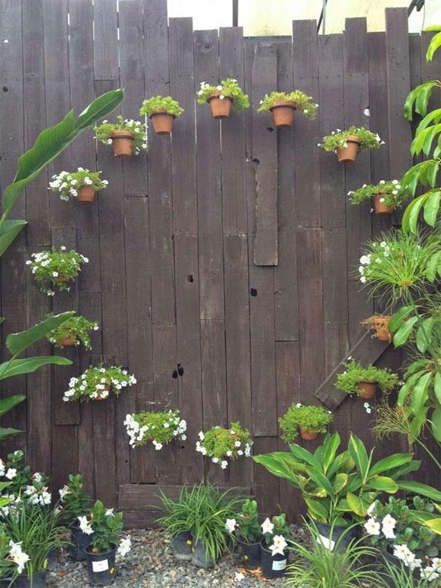 A Fairy Circle of Terracotta Pots