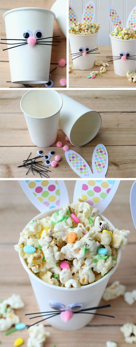 Easter Bunny Cups and Bunny Bait