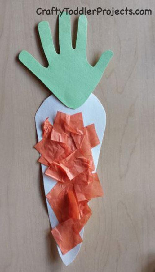 Handprint Carrot
