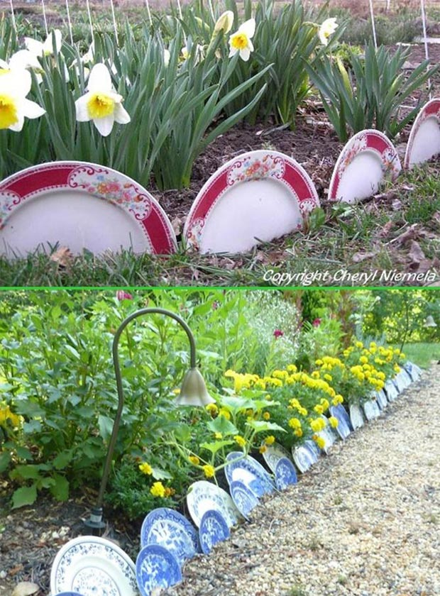 Create Awesome Garden Edging To Improve Your Curb Appeal