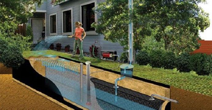 Build an Efficient Tank to Reuse Rainwater
