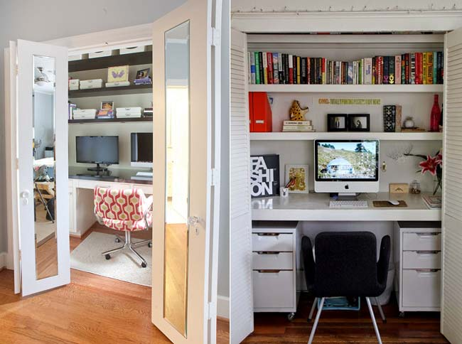 15 Brilliant Ideas To Transform An Unused Closet Space