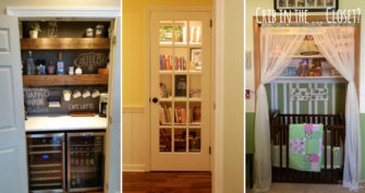 15 Brilliant Ideas To Transform An Unused Closet Space
