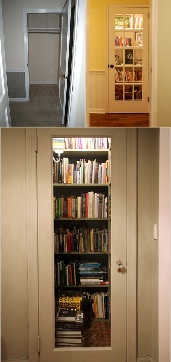 15 Brilliant Ideas To Transform An Unused Closet Space Homedesigninspired