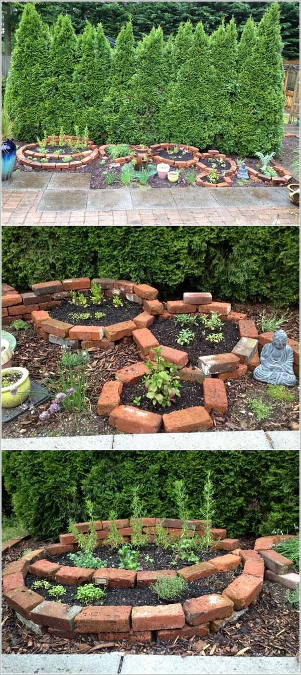 Top 19 Cool Ideas To Create A Round Garden Bed With