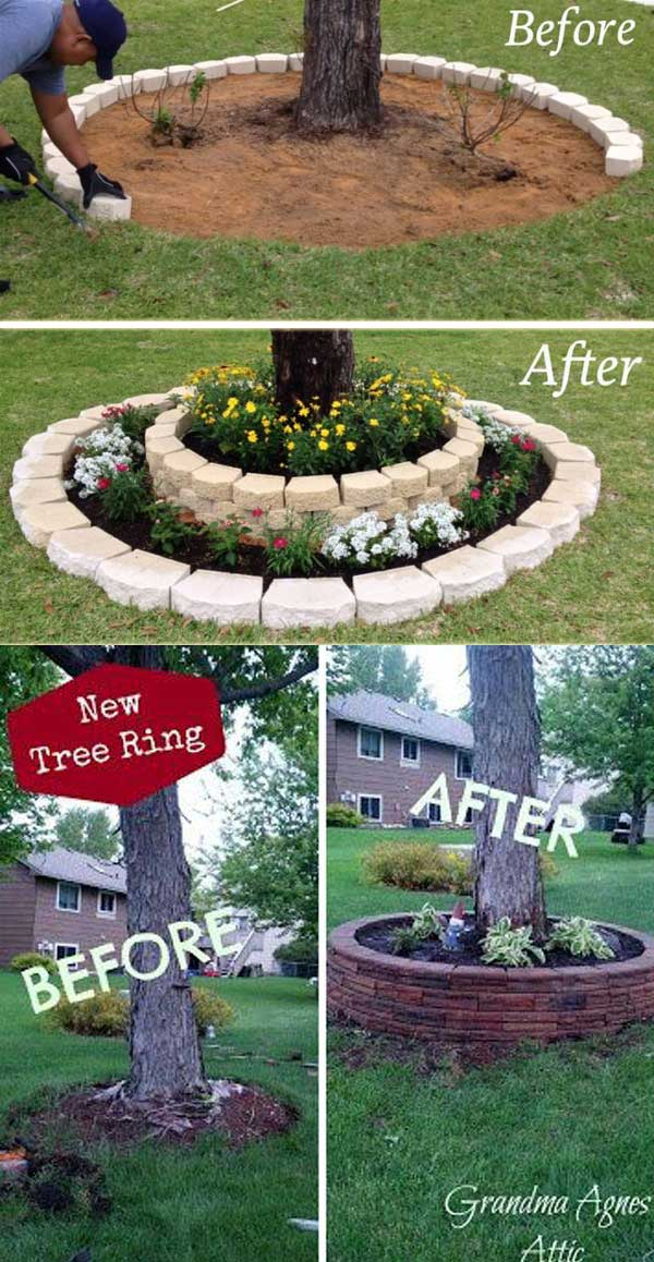 Top 19 Cool Ideas To Create A Round Garden Bed With Recycled Things Homedesigninspired