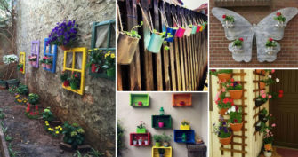 Awesome Ways to Display Your Planters on The Wall