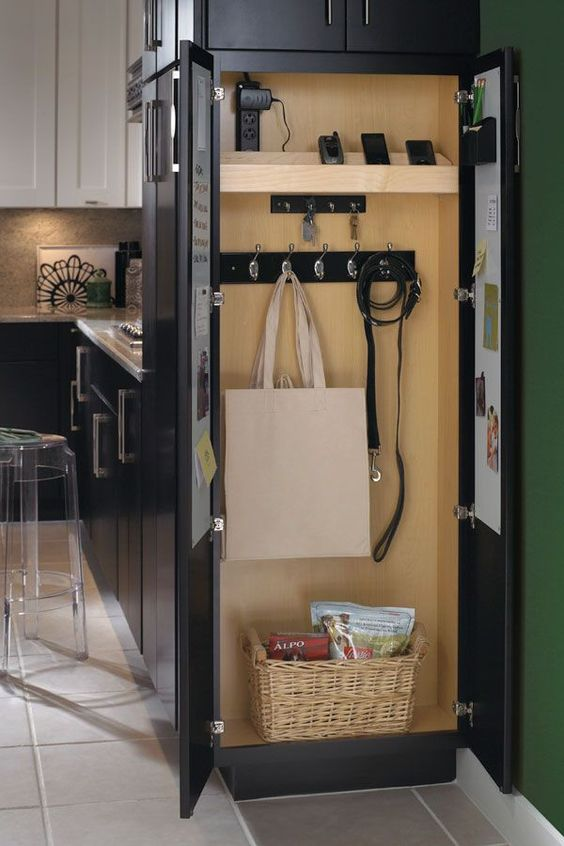 20 Genius Ideas For Using Wasted Space On Kitchen Ends Of