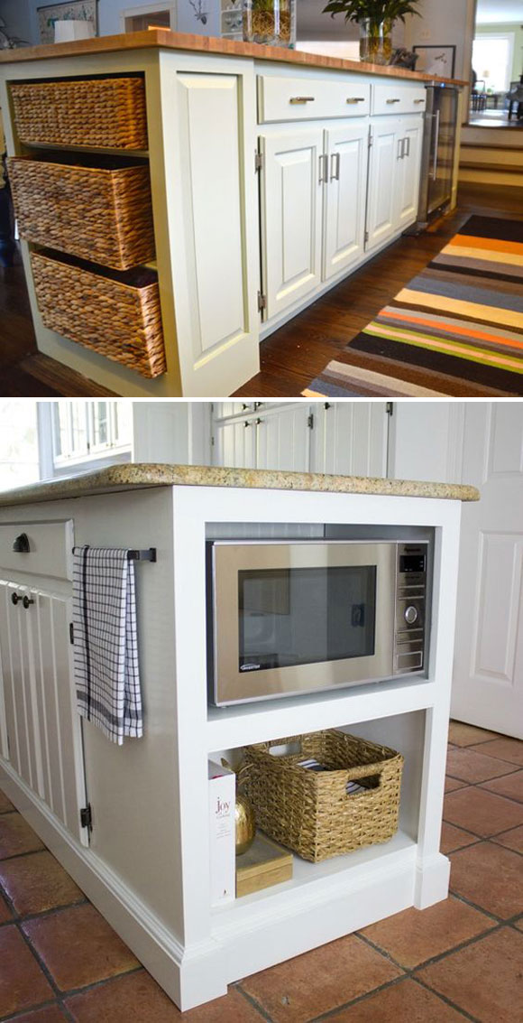 20 Genius Ideas For Using Wasted Space On Kitchen Ends Of Cabinet