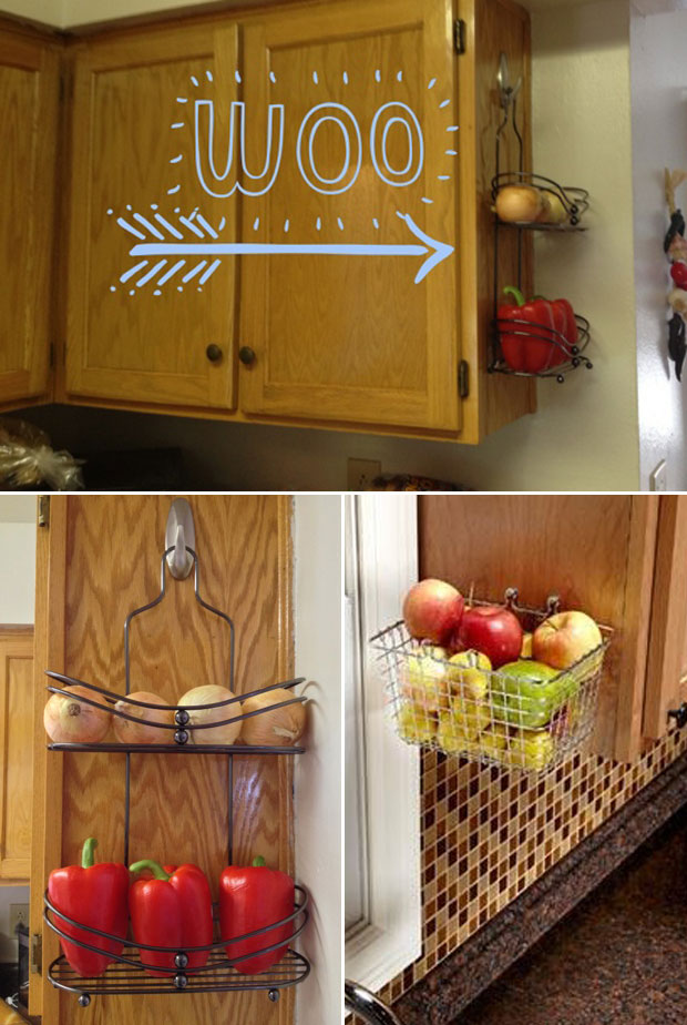 20 Genius Ideas For Using Wasted Space On Kitchen Ends Of Cabinet Homedesigninspired
