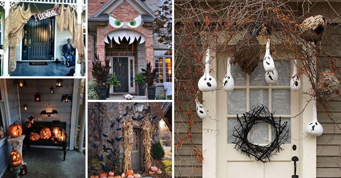 Add Spooky Touch to Porch this Halloween