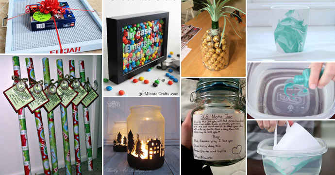 cool craft ideas for christmas gifts 31 awesome diy gift ideas to make you say wow 7521