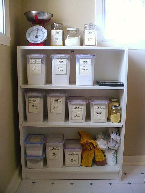 genius ways to storage baking supplies 16