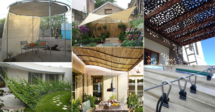 10 Exciting DIY Ideas to Build a Shady Space for Patio