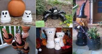 15 Ideas to Reuse Clay Pots for Halloween Crafts