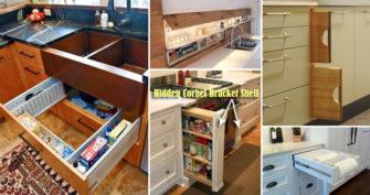 28 Hidden Storage Spots Your Kitchen Might Have