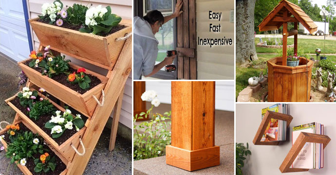 15 Practical Diy Home Projects You Can Make Out Of Cedar Wood Homedesigninspired