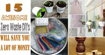 Best Zero Waste DIYs Will Save You A Lot Of Money