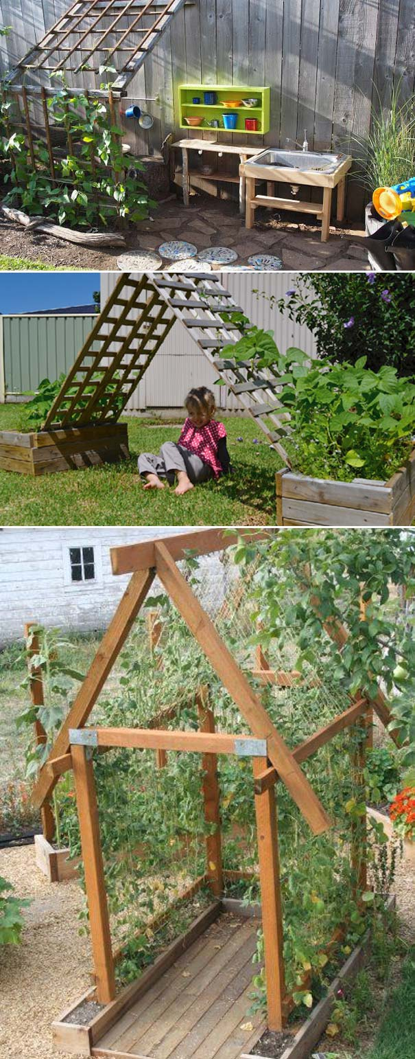 Try These 20 Ideas for Making a Kids Play Garden