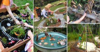 Try These Ideas for Making a Kid's Play Garden