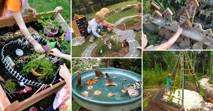 Try These 15 Ideas For Making A Kids Play Garden