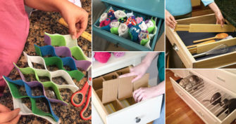 15 Cool DIY Drawer Divider Ideas to Conquer Clutter