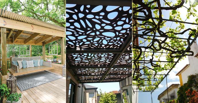 Creative Roofing Design Ideas for Your Pergola