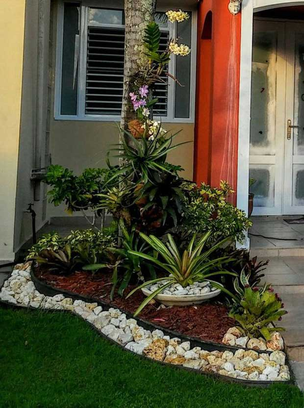 22 Mind-Blowing Front Yard Flower Bed Ideas on Garden Bed Ideas For Backyard id=17990