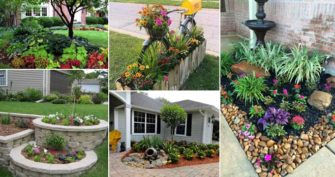 22 Mind-Blowing Front Yard Flower Bed Ideas