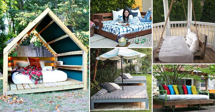 The Best 20 Outdoor Beds for Breezy Summer Naps