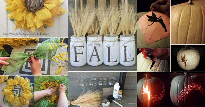The Best 40 DIY Fall Craft Ideas That Are Easy and Cheap