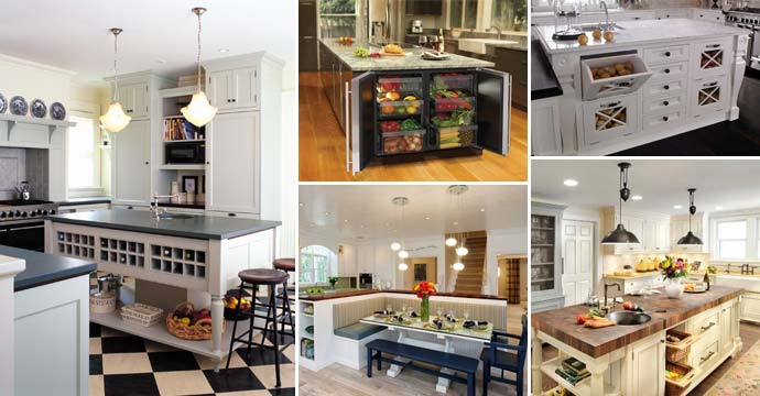 19 Popular Features You Want Add to a Kitchen Island