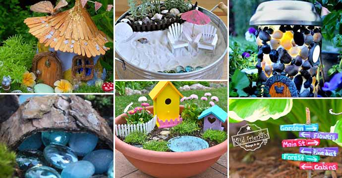 Best 38 Dollar Store Fairy Garden Ideas You Will Love